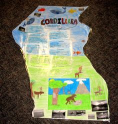 Cordillera.. making a large scale map of canada highlighting the ...