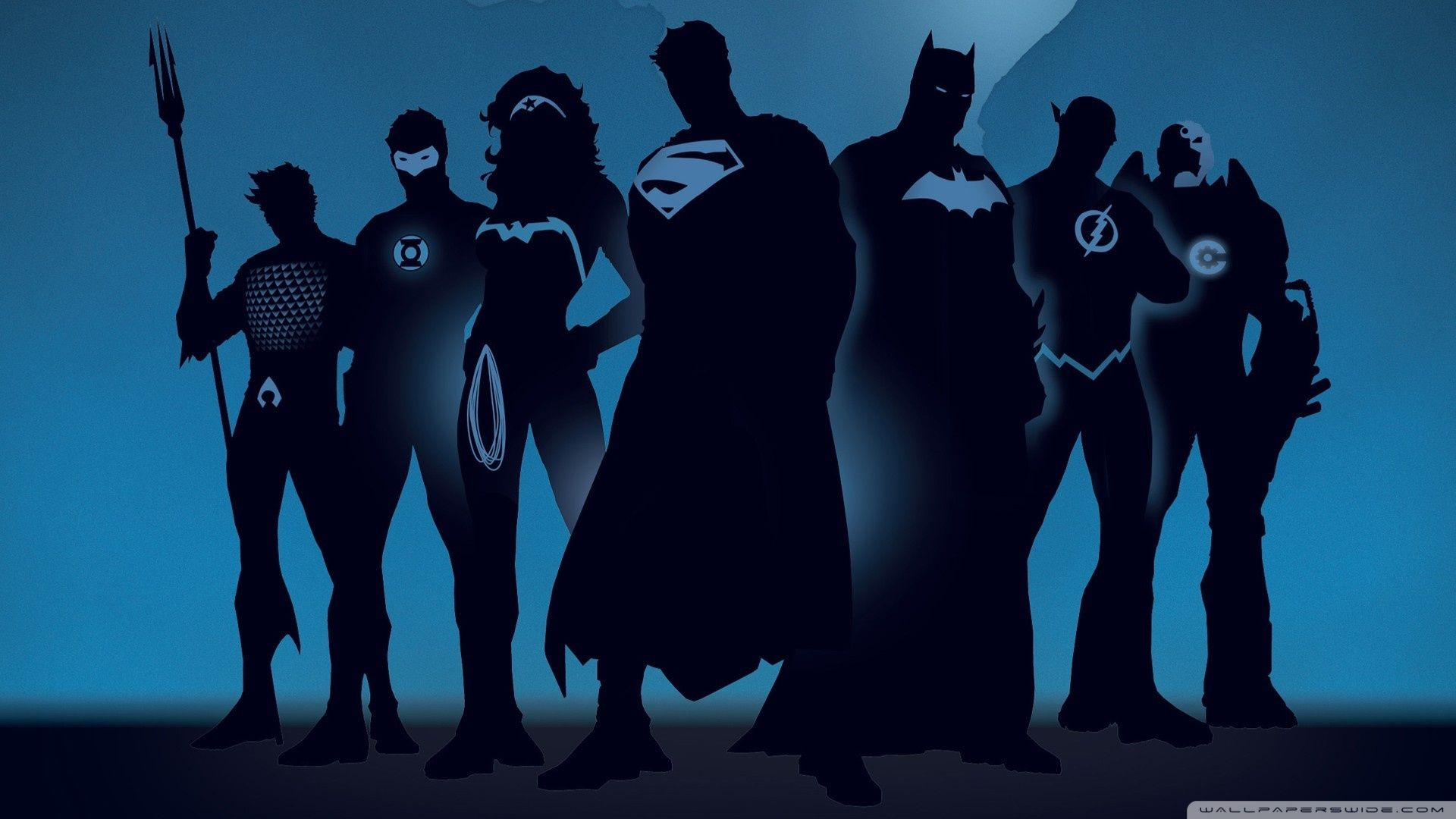Batman Wallpaper 1920 1080 Hd Wallpaper Superhero Silhouette Dc Comics Wallpaper Justice League Characters
