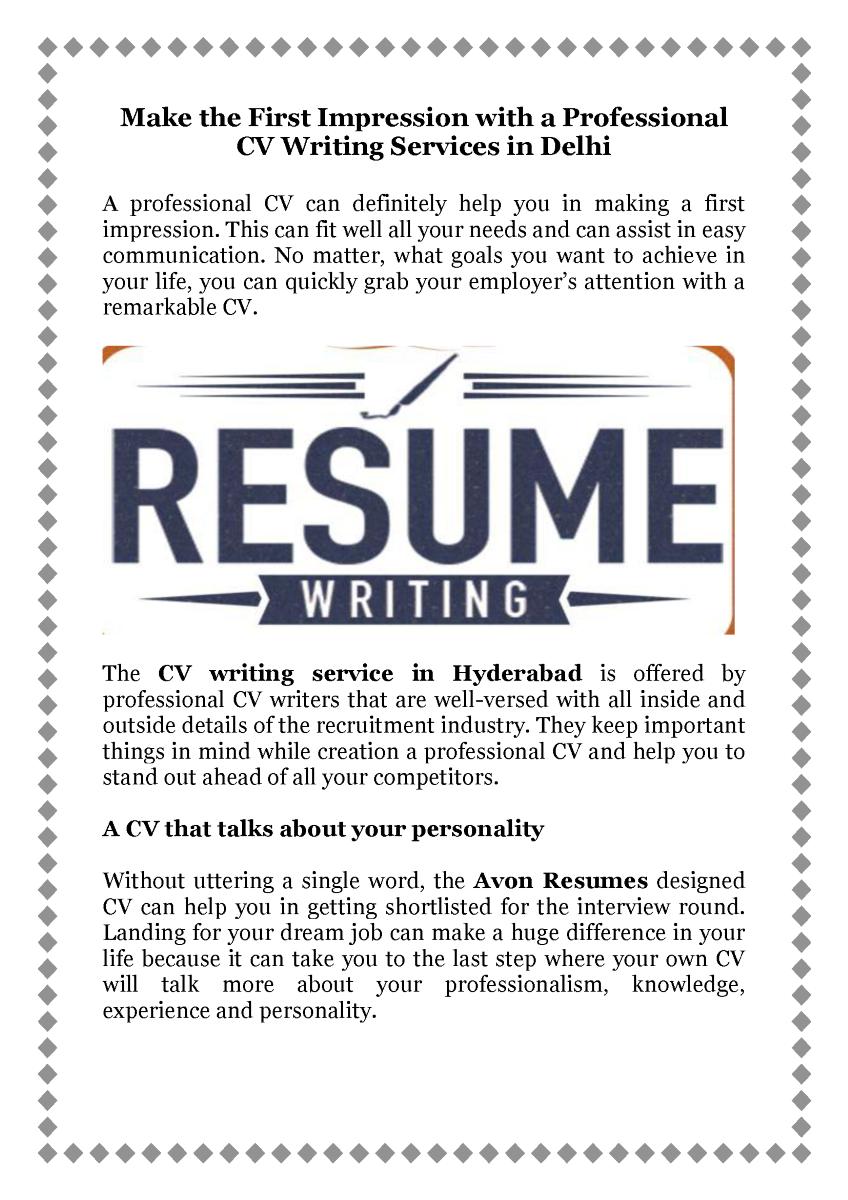Pin by Avon Resumes on CV Writing Cv writing service