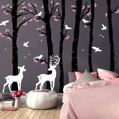 Wandtattoo  - kunst fürs wohnzimmer