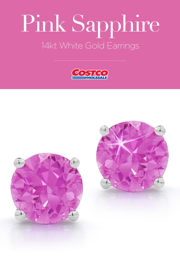 Pink Shire 14kt White Gold Earrings Jewelry Inspiration