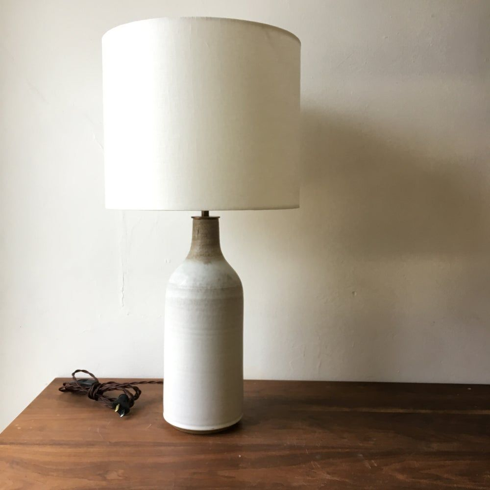 Birch Bronze Bottle Lamp In 2020 Bottle Lamp Lamp Linen Shades
