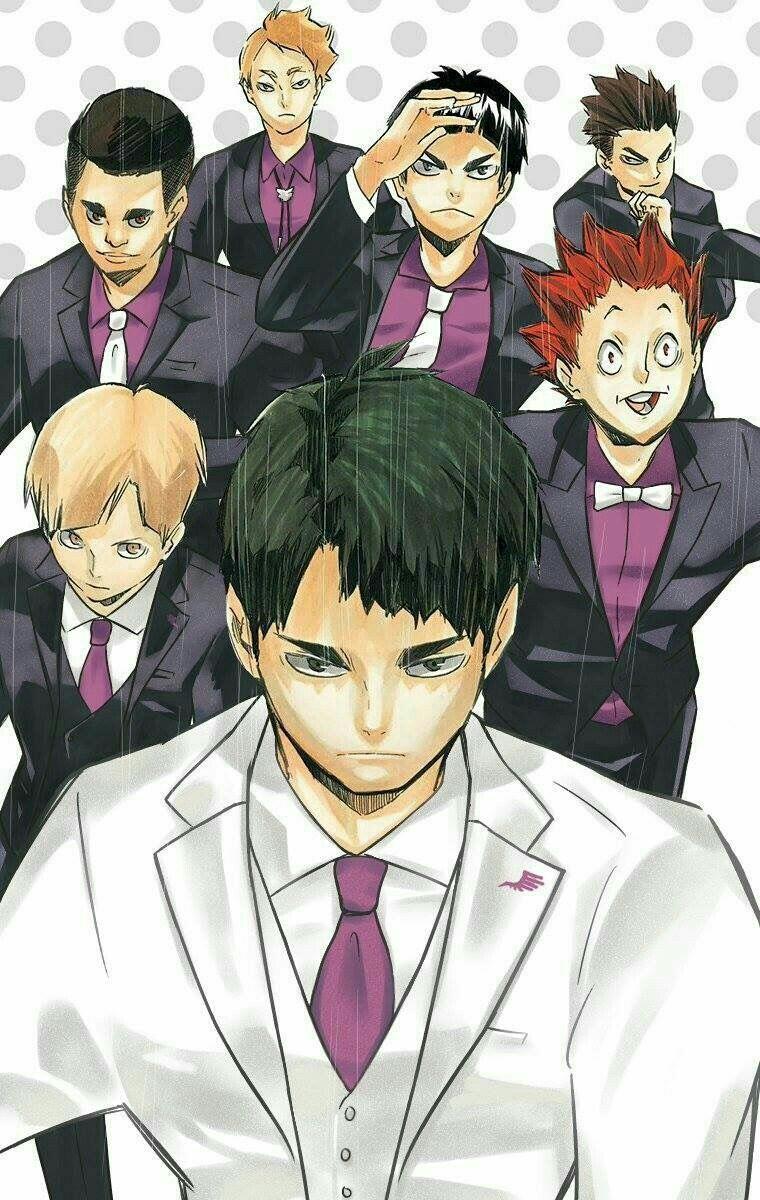 Anime Picture - Shiratorizawa - Haikyuu