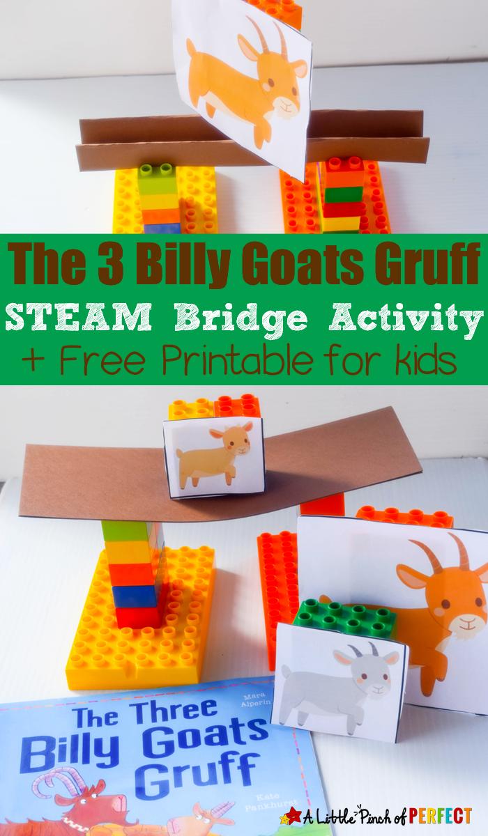 the three billy goats gruff steam bridge building activity for