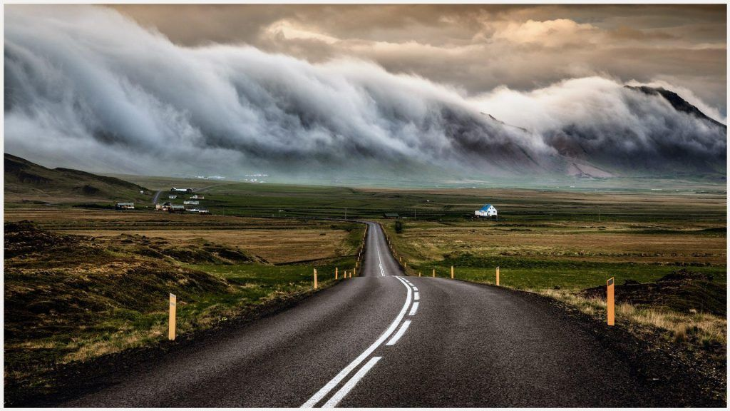 Iceland S Ring Road Wallpapers: Iceland Road Landscape Wallpaper
