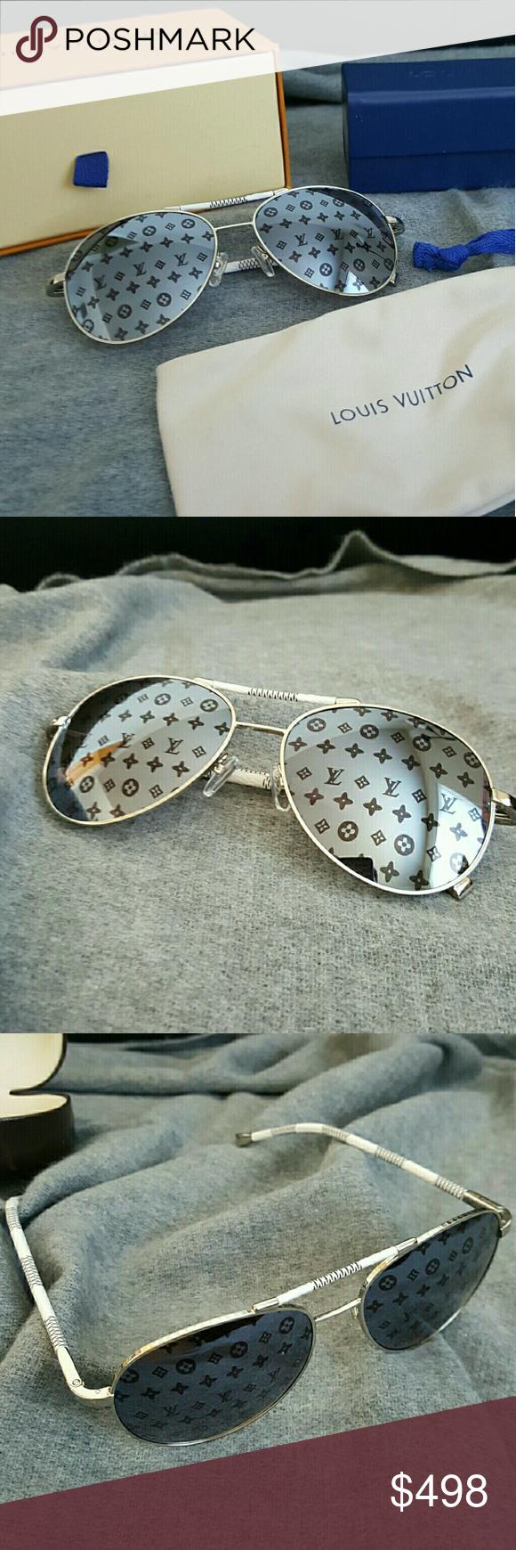 0d3e57489c Authentic Louis Vuitton Monogram Sunglasses Unisex Made in Italy For men or  women Lens color