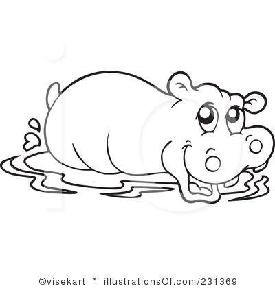 Hippo Clipart2 Jpg 400 420 Hippo Tattoo Free Clip Art Clip Art