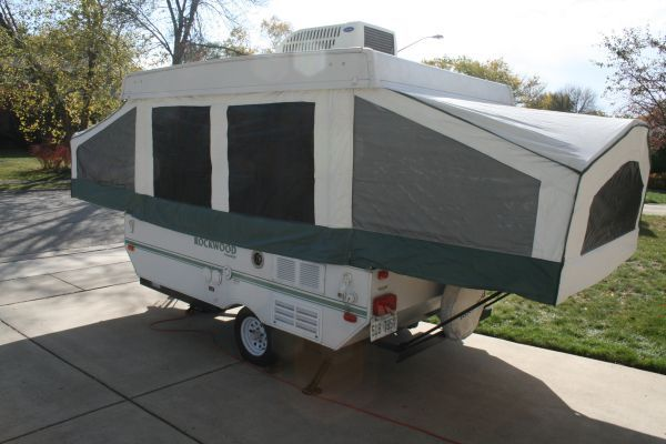 Craigslist 2006 Rockwood Freedom 3990 Popup Camper Pop Up