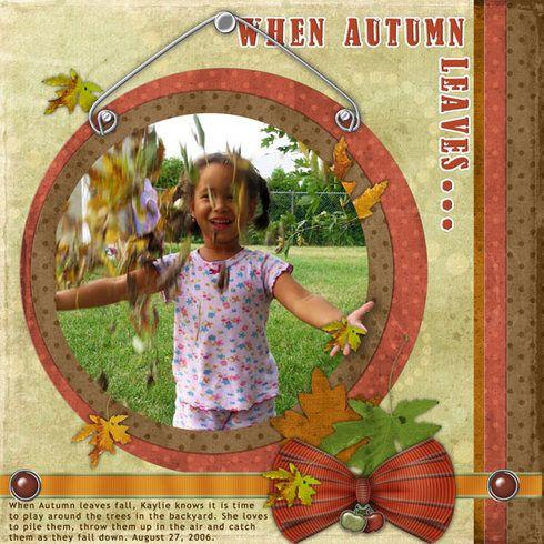 When Autumn Leaves... by LovelyMisKait