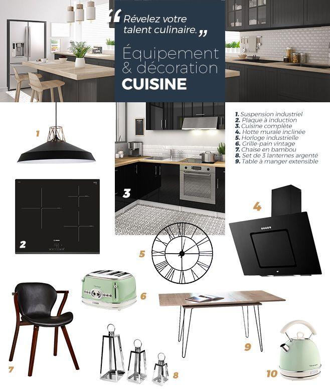 Sélection Décoration Pour La Cuisine Produits Cdiscount Exposés - Cdiscount table salle a manger pour idees de deco de cuisine