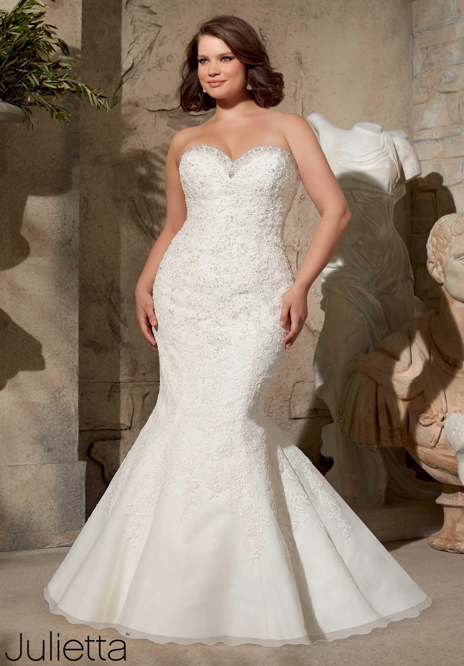 991187ff7 Vestidos de novia para gorditas - con fotos espectaculares