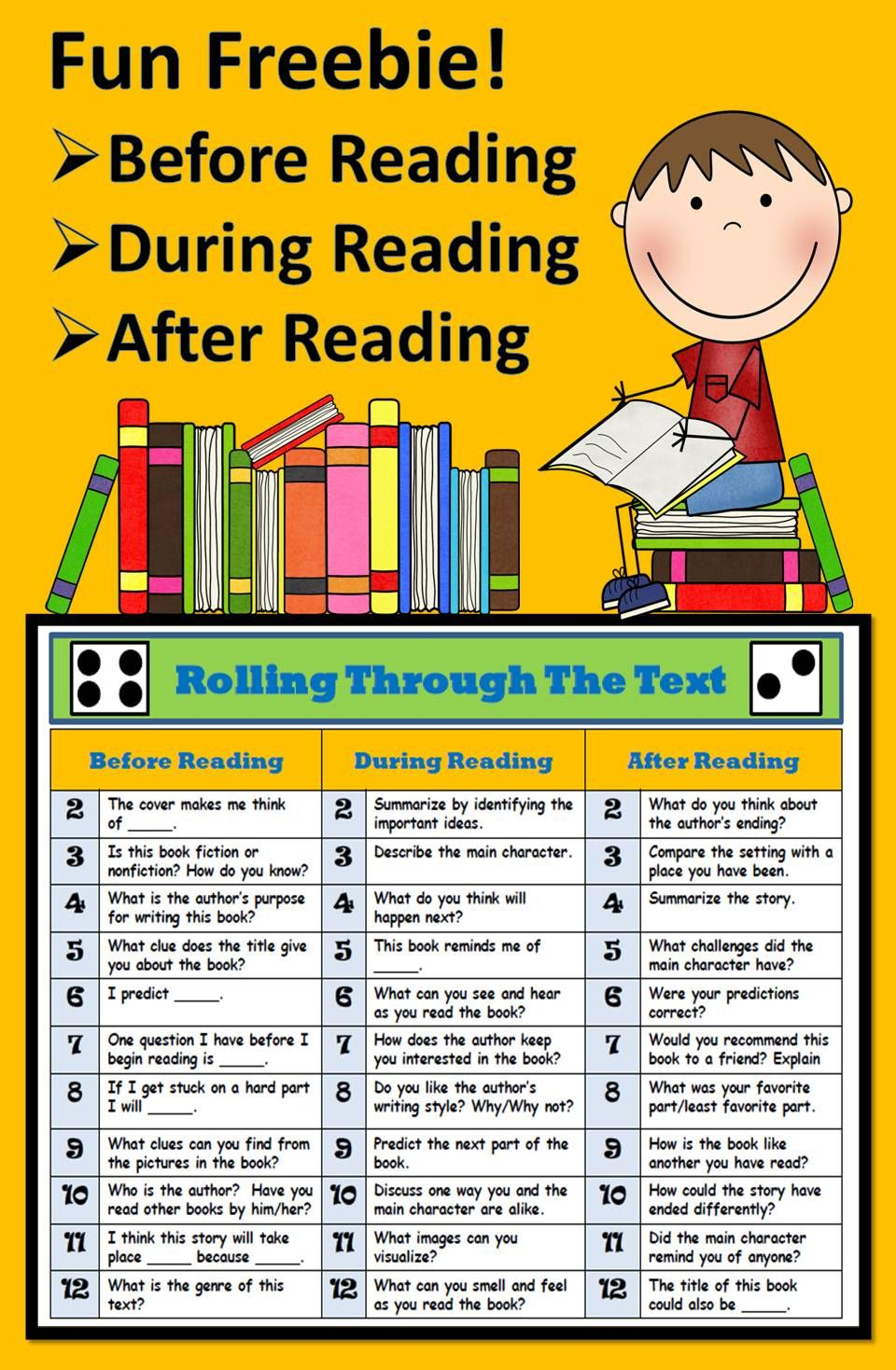 Freebie A Guided Reading Favorite Engage Your Students In Your Guided Reading Groups With This Befo Reading Lessons Guided Reading Activities Guided Reading [ 1468 x 960 Pixel ]