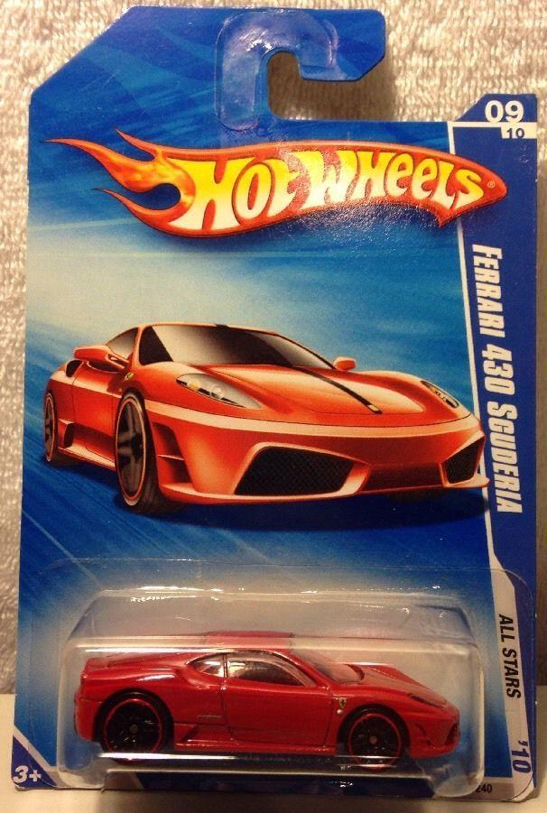 Hot Wheels Ferrari 430 Scuderia 2010 Walmart Exclusive Red Color 127 240 Hotwheels Ferrari Hot Wheels Ferrari Wheel