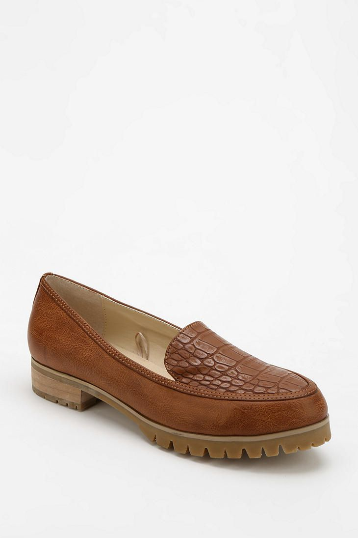 1abebbac19a Urban Outfitters - Cooperative Patent Trim Treaded Loafer