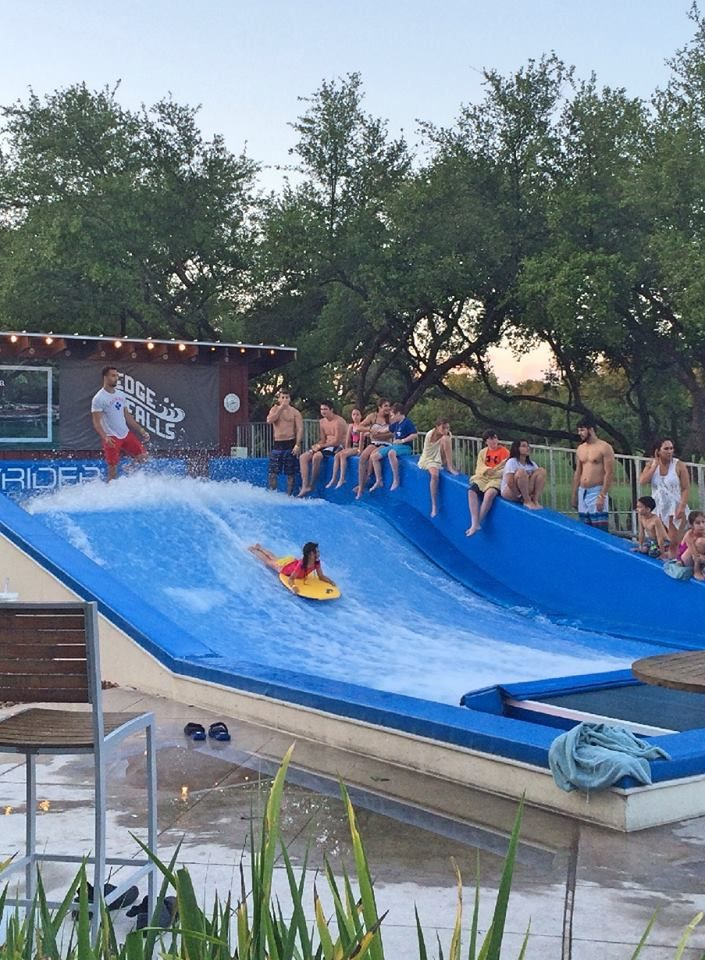 Kids And Adults Love Our Flowrider Wave Machine Go Surfing Or Body Boarding In The Texas Hill C Hill Country Resort San Antonio Hotels Family Friendly Resorts