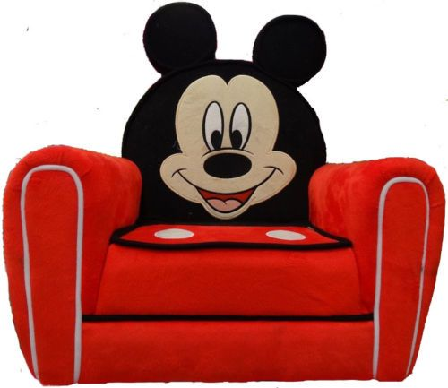 Disney Mickey Mouse Upholstered Children S Arm Chair Sofa Free Uk P Ebay