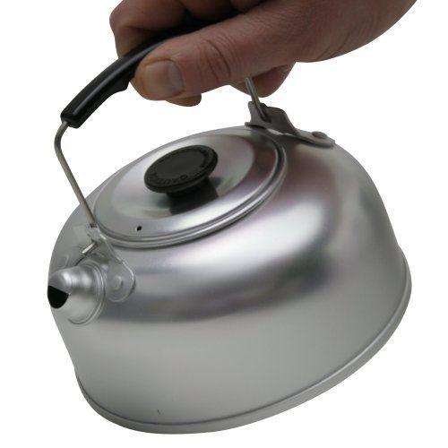 10T Kettle 950 - Tee-Kessel mit Deckel und Isoliergriff Aluminium ...