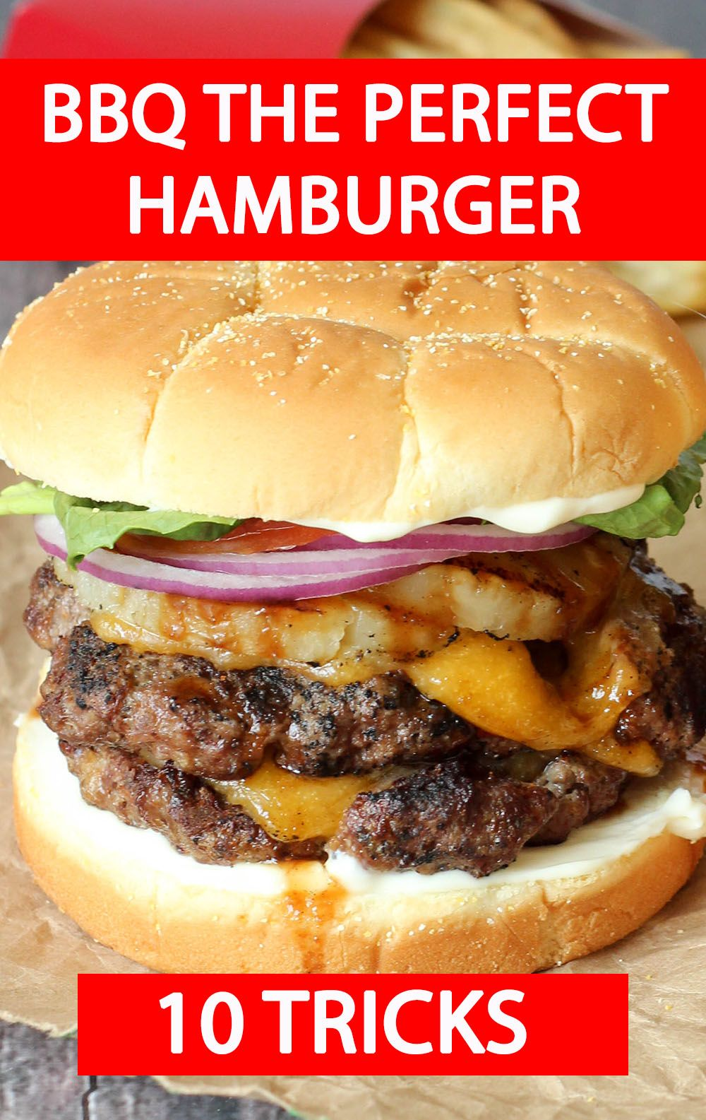 BBQ The Perfect Hamburger images