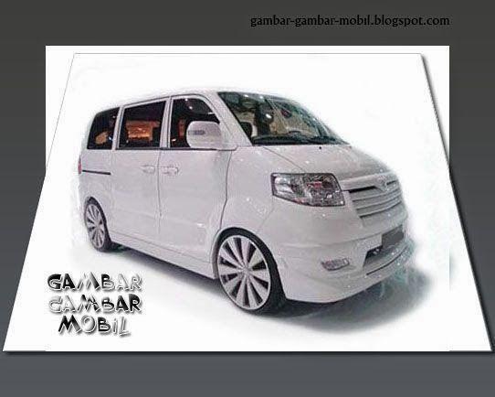 Gambar Mobil Suzuki Apv Luxury