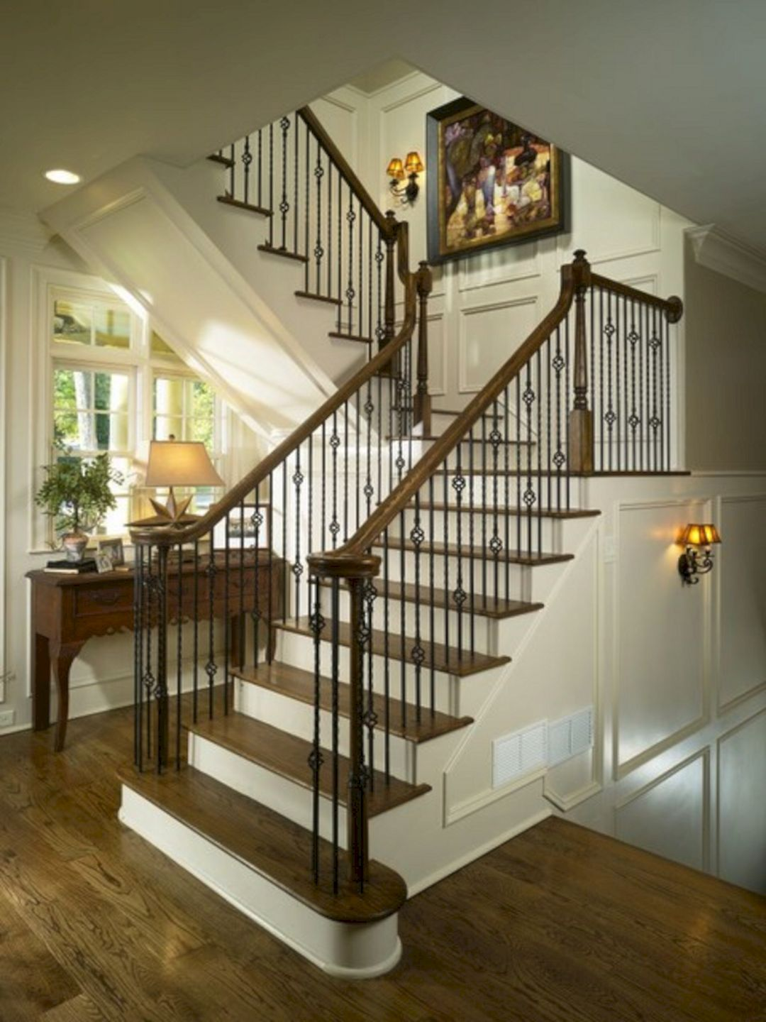 High Quality 45+ Beautiful Stairway Decorating Ideas For Attractive Your Home