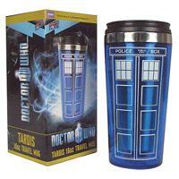 Doctor Who TARDIS 16 oz. Travel Mug | Dream Rave