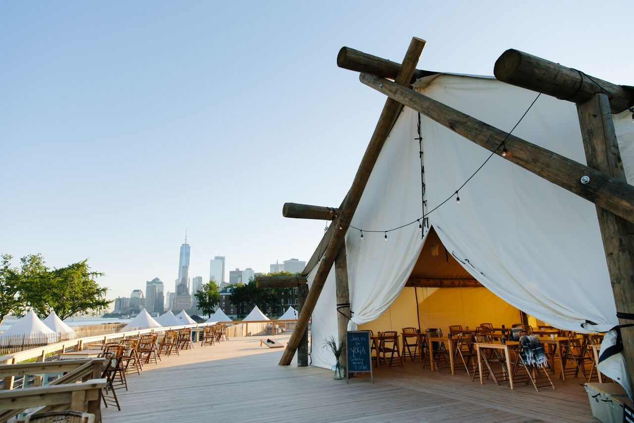 Governors Island Luxury Camping Retreat In Nyc Collective Retreats Visiting Nyc Glamping Resorts Urban Camping