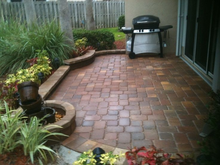 DIY - Patio Idea for the garden may have my daddio help me ...
