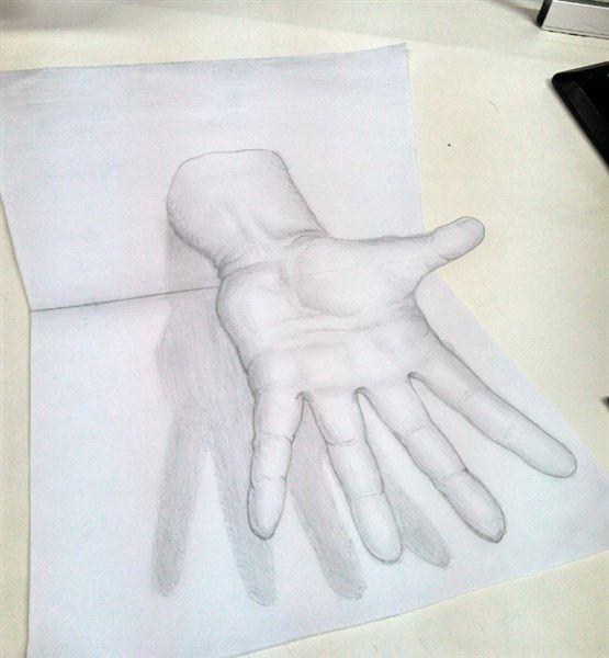 Como aprender a dibujar en 3d a lapiz paso a paso 4 for Dibujar un mueble en 3d