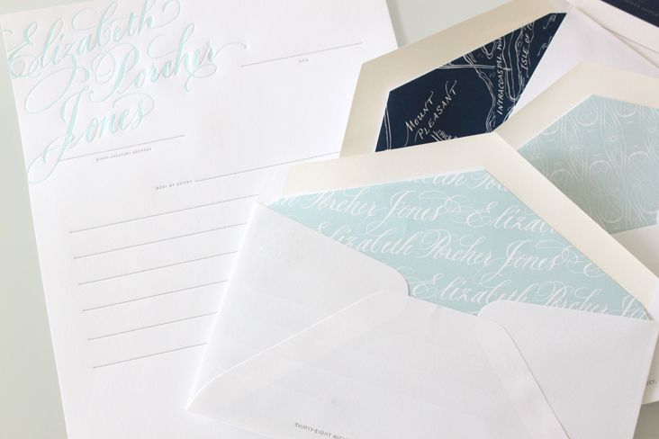 Stitch Design Co. / Elizabeth Porcher Jones #elizabeth #porcher #jones #corporate #grafica #vintage #stampa #letterpress