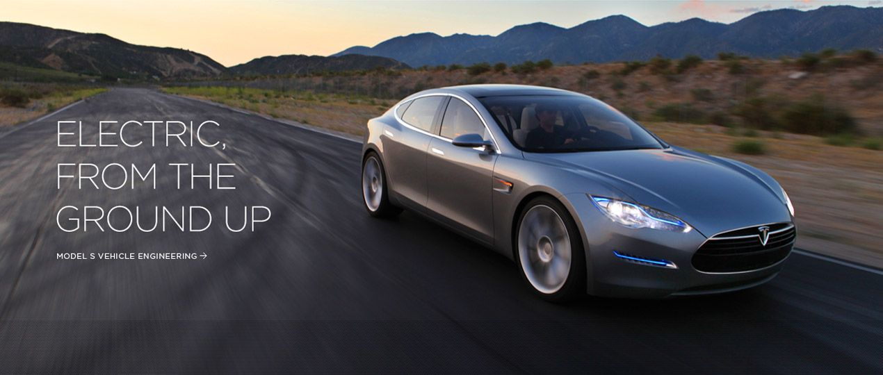 Blue Grey Model S With Images Tesla Electric Cars
