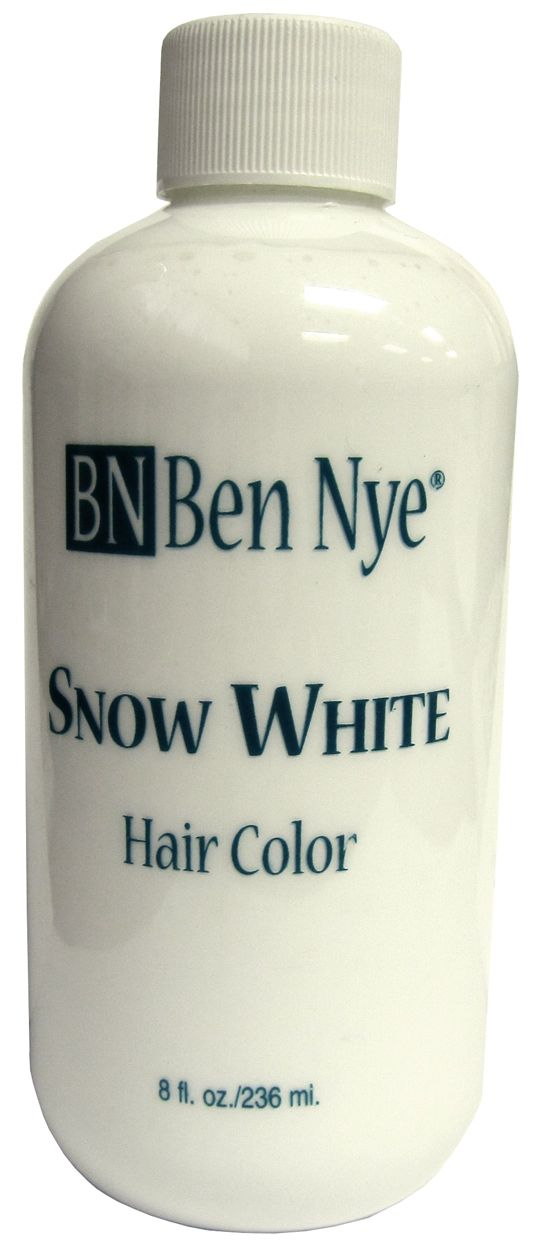 White Hair Color | Temporary White Hair Dye | Santa White Beard Dye ...