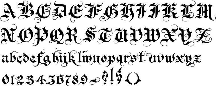 Callifonts , 1900\u0027s calligraphy fonts
