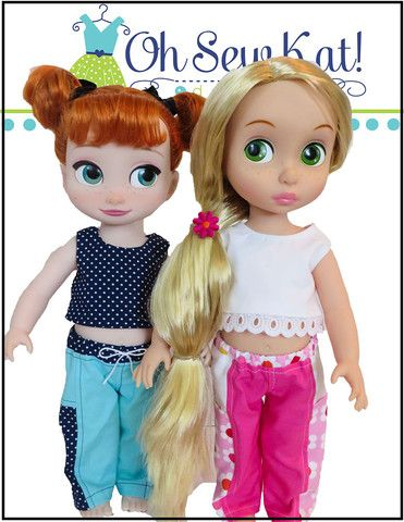 Playground Pants for Disney Animator Dolls   Doll Clothes Pants and ...