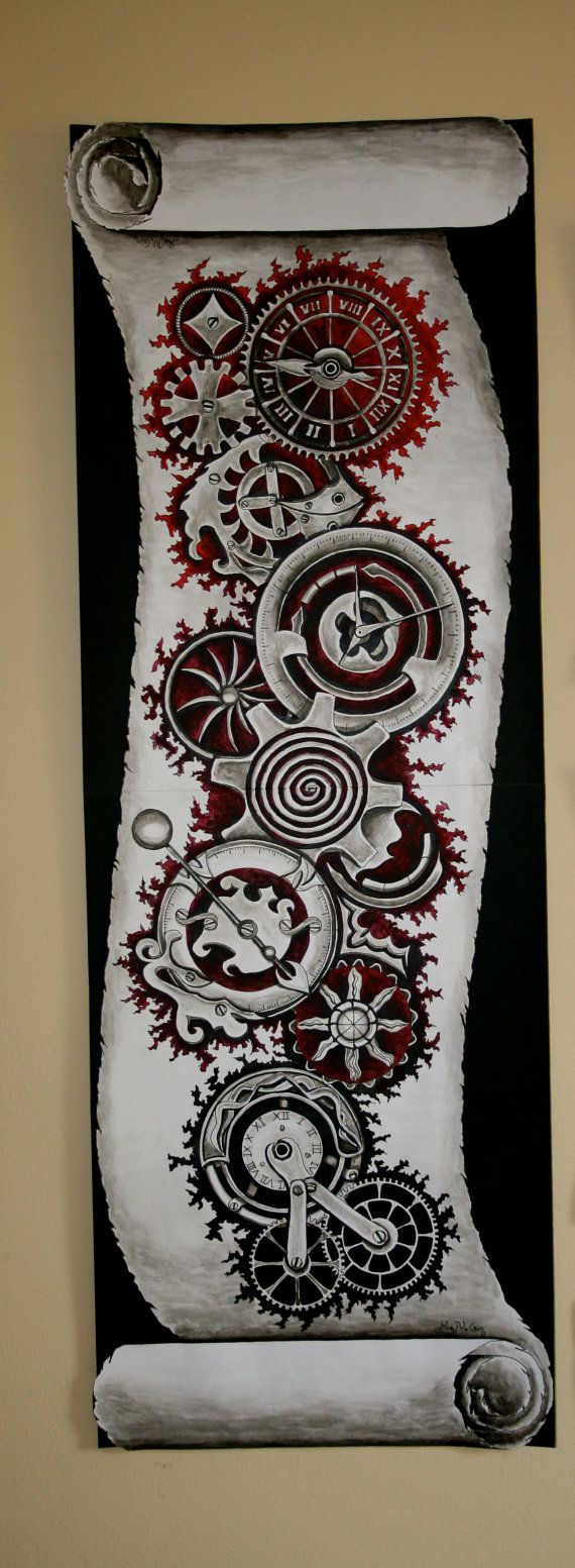 Pin by Ethan on Art Pinterest Painting Steampunk and Tattoos