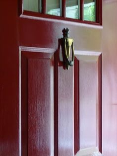Rust Oleum Paint In Colonial Red Rustoleum Front Door Colors Doors