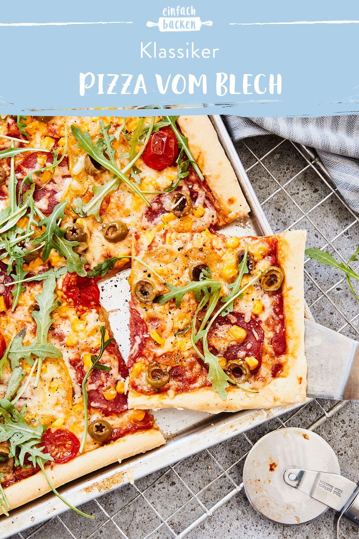 34+ Vegetarische pizza vom blech Trends