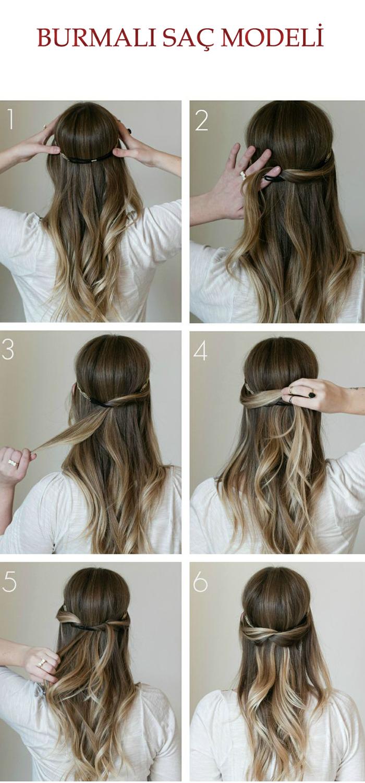 Pratik saç modelleri saç modelleri pinterest hair style and