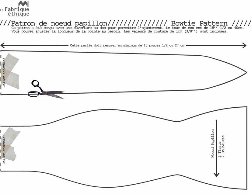 blogue d 39 co couture de la fabrique thique fabriquer un noeud papillon projets essayer. Black Bedroom Furniture Sets. Home Design Ideas
