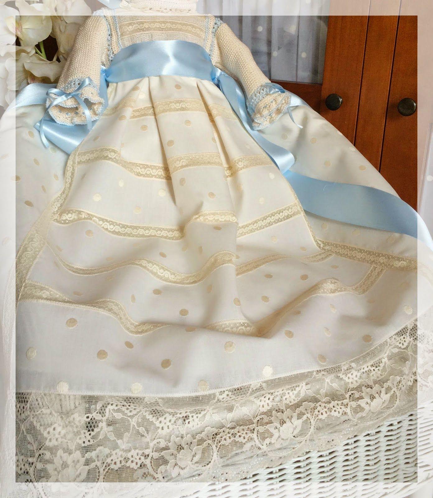 Canastilla artesanal fald n bautizo pinterest - Canastilla artesanal bebe ...
