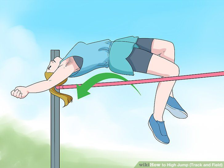 How To High Jump Track And Field 15 Steps With Pictures High Jump Track Track And Field High Jump