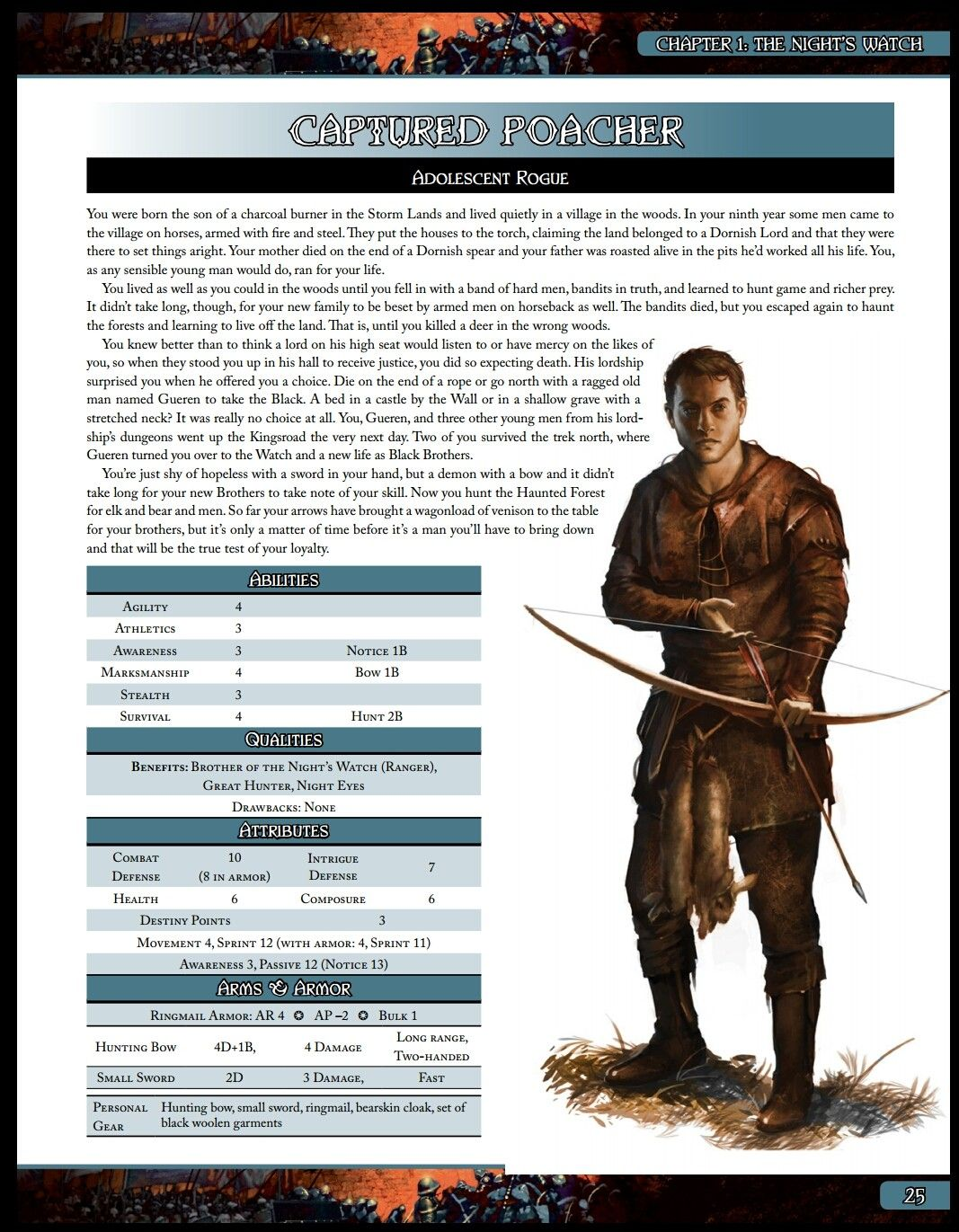 Captured Poacher A Song Of Ice And Fire Roleplaying Night S