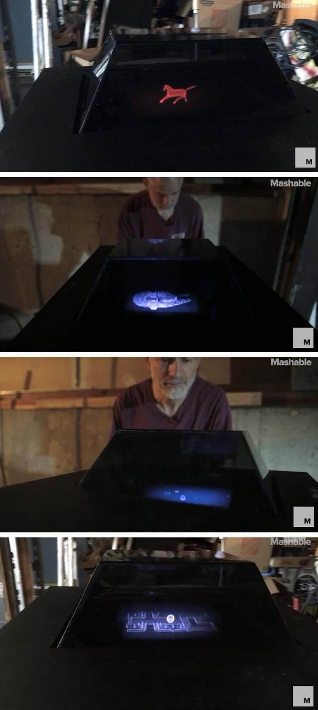 Voxiebox' turns your images into holographic 3D projections