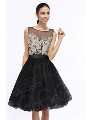 http://www.cocomelody.com/charming-a-line-illusion-natural-knee-length-organza-black-sleeveless-zipper-party-dress-with-appliques-and-crystals-cozk14028.html