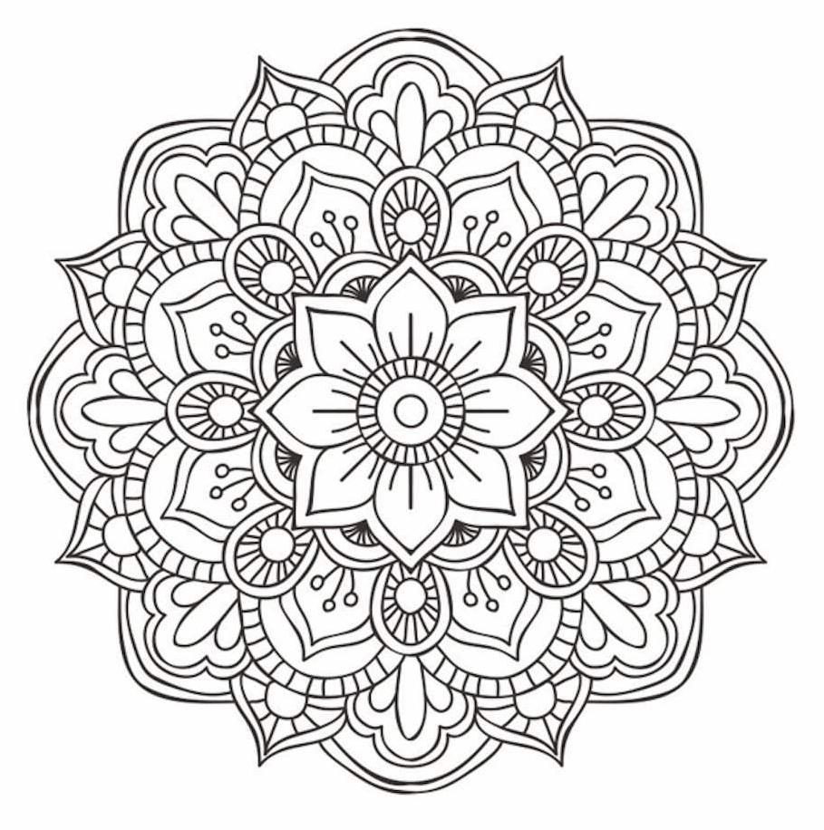 Flower Mandala Doodle Doodle Is Art Coloring Mandalas Art Coloring Doodle Flower Mandala Mandalas 2020 Boyama Sayfalari Mandala Sanat Desen Mandala Art