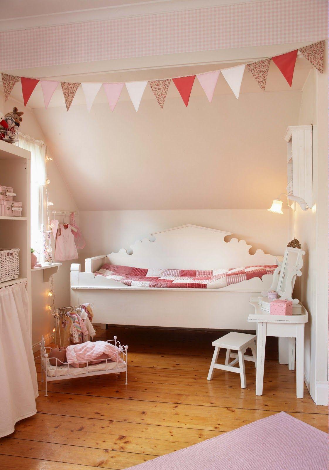 Roze meisjeskamer home pinterest decoracion infantil - Decoracion habitacion infantil nina ...