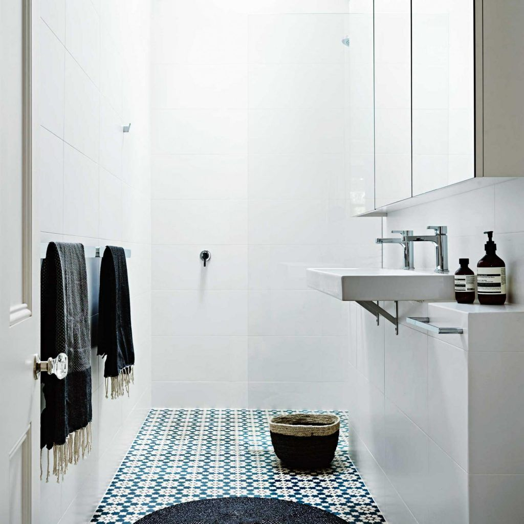 Patterned Floor Tiles For Small Bathroom   Bathroom Exclusiv ...