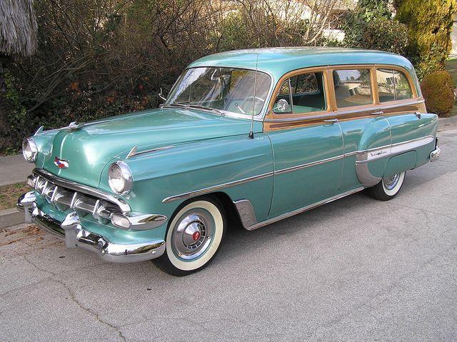 1954 Chevrolet Bel Air Townsman Station Wagon 1954 Chevy Bel Air Chevrolet Bel Air Station Wagon