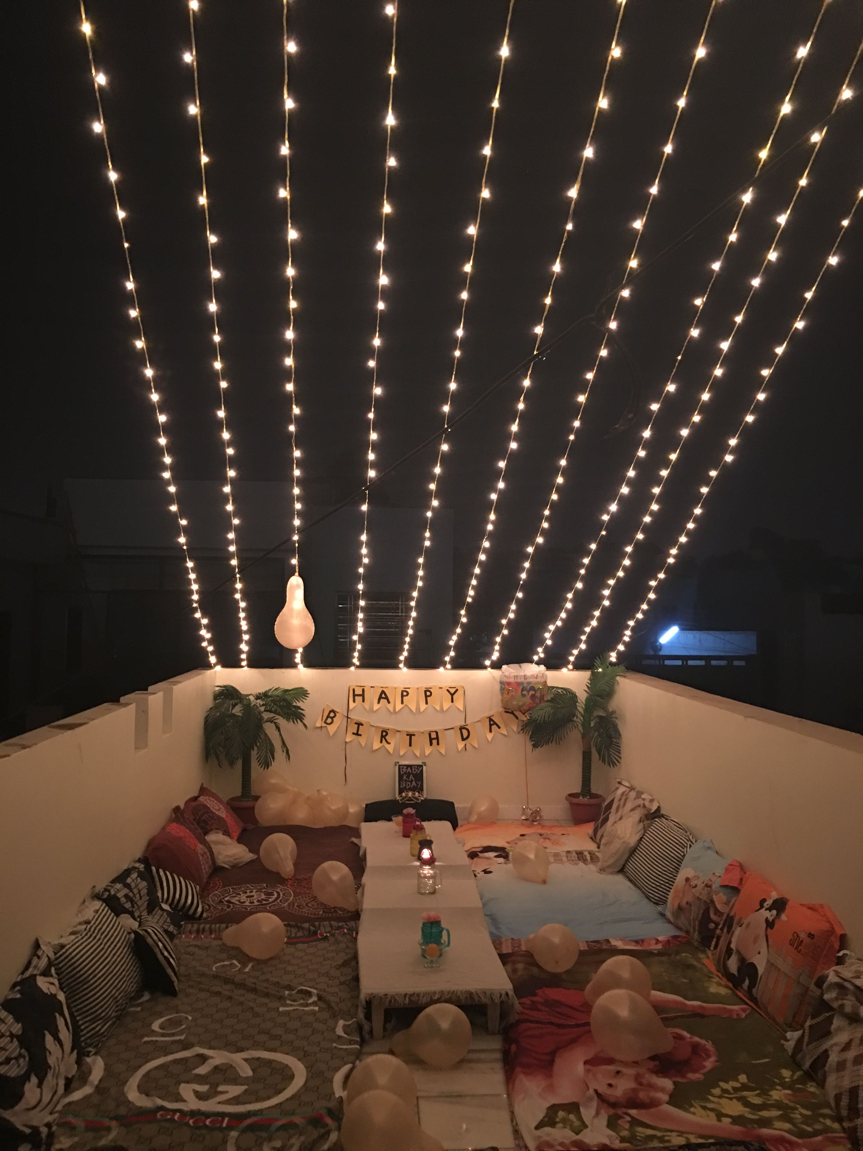 Halloween Decoration Interieur Terrace Party At Home Terrace Party In 2019 Giardino