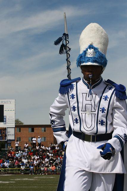 Drum Major Hampton University Marching Force Band