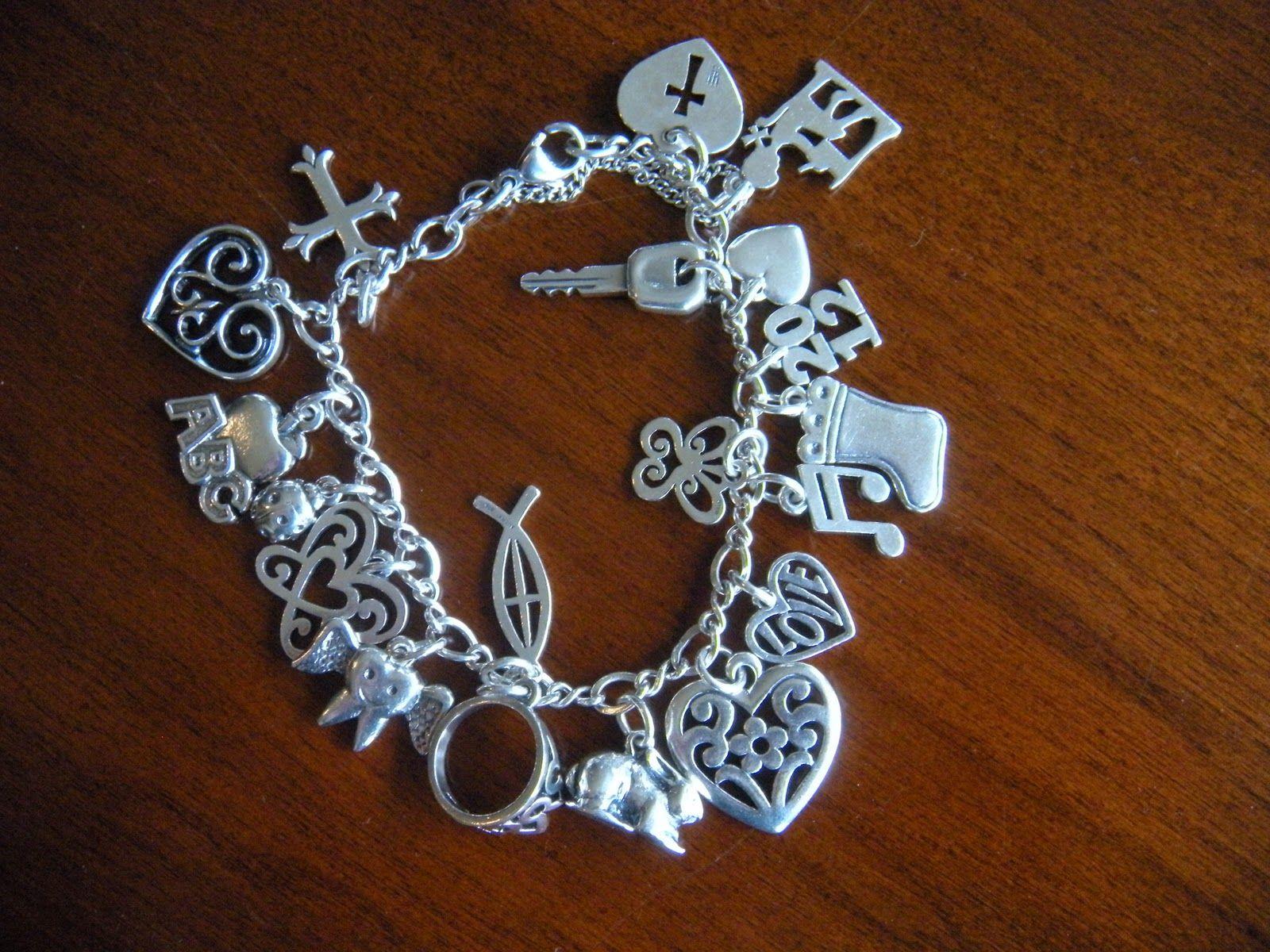 James Avery Charm Bracelet Styling Pinterest